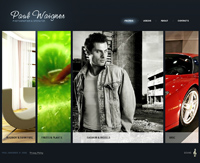 commercial website template